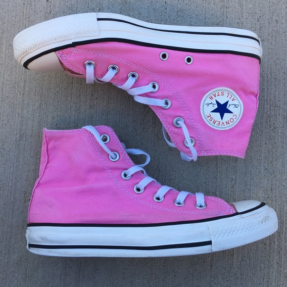 Converse Shoes | High Tops Pink Womens